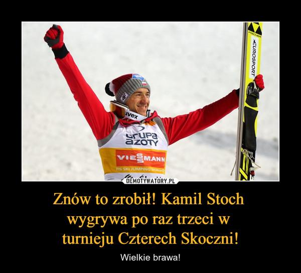 Znów to zrobił! Kamil Stoch wygrywa po raz trzeci w turnieju Czterech Skoczni! – Wielkie brawa!