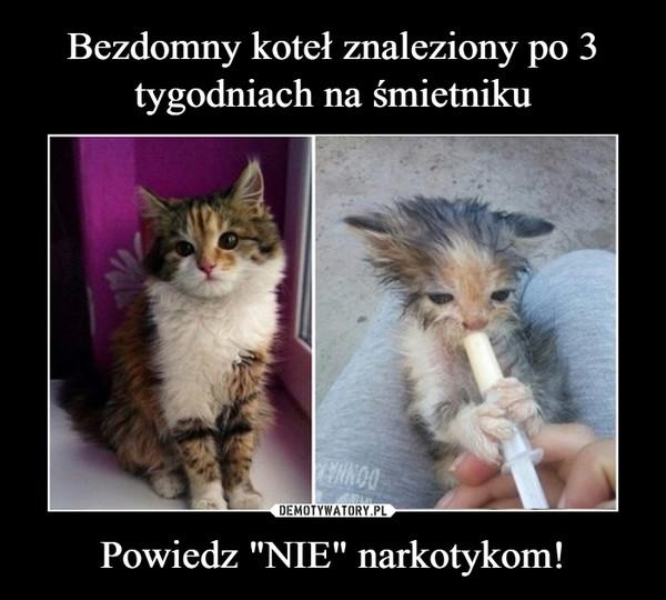 """Powiedz """"NIE"""" narkotykom! –"""