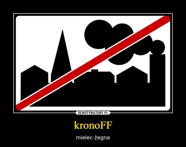 kronoFF – mielec żegna