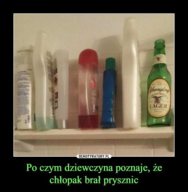 Dziewczyna na dziewczyna prysznic