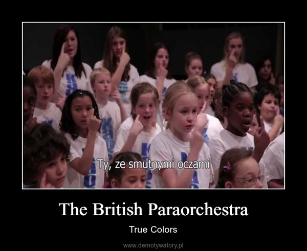 The British Paraorchestra – True Colors