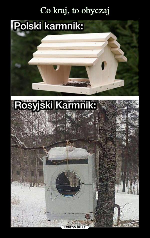 –  Polski karmnikRosyjski karmnik