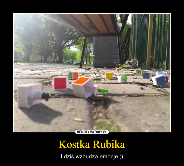 Kostka Rubika – I dziś wzbudza emocje ;)