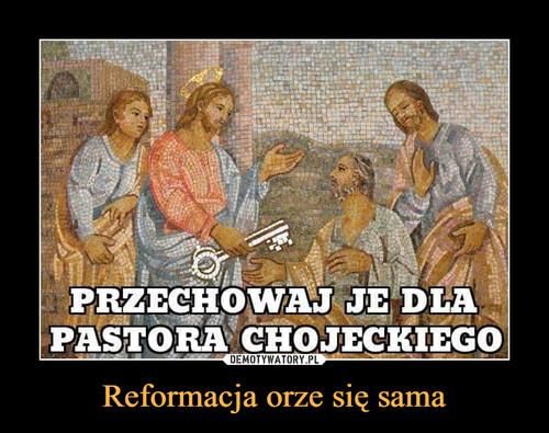 Reformacja orze się sama