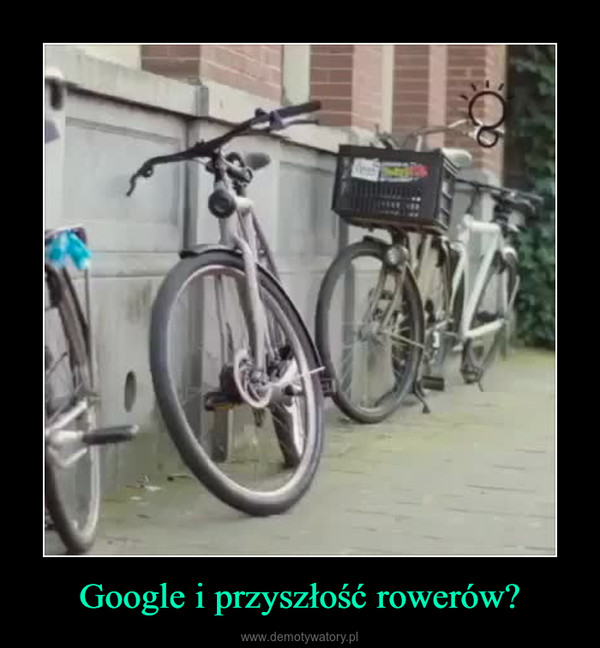 Google i przyszłość rowerów? –