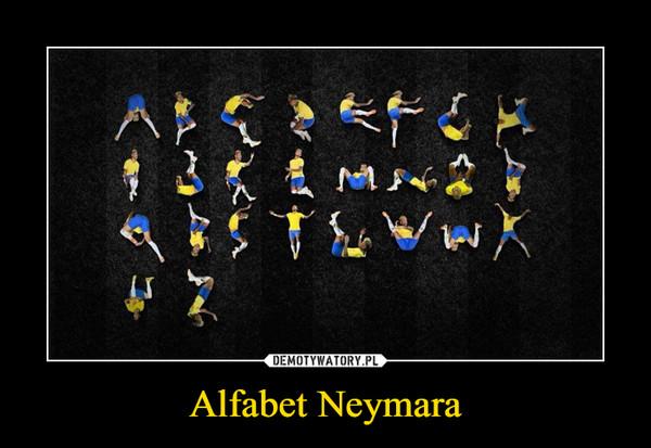 Alfabet Neymara –