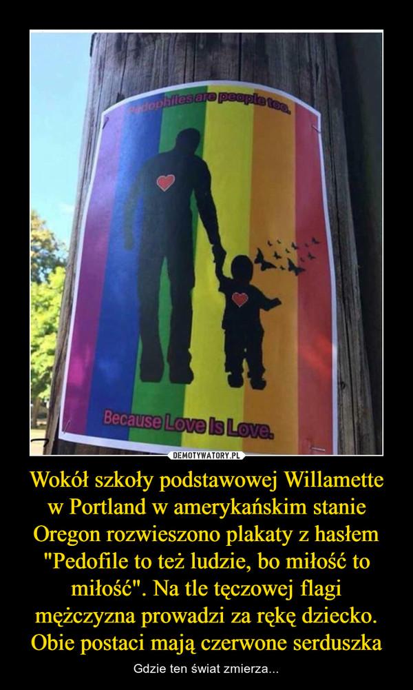 Wokół Szkoły Podstawowej Willamette W Portland W