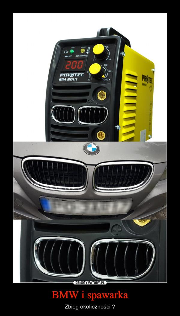 BMW i spawarka – Zbieg okoliczności ?