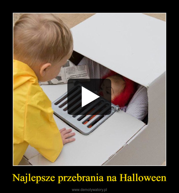 Najlepsze przebrania na Halloween –