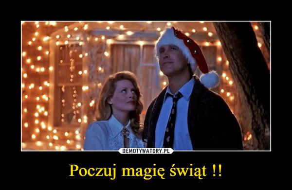 Poczuj magię świąt !! –