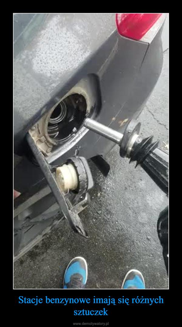 Stacje benzynowe imają się różnych sztuczek –