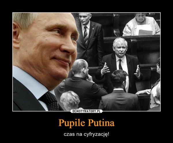 Pupile Putina – czas na cyfryzację!