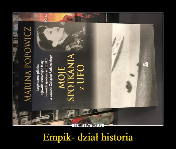 Empik- dział historia –