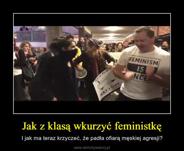 Jak z klasą wkurzyć feministkę – I jak ma teraz krzyczeć, że padła ofiarą męskiej agresji?