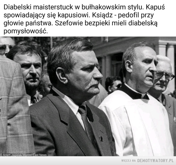 """""""Prezydent"""" i """"Kapelan"""" –"""