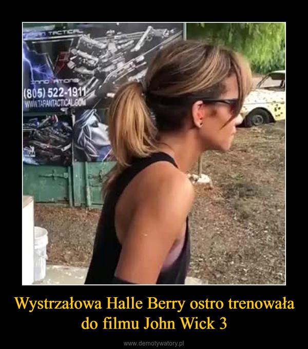Wystrzałowa Halle Berry ostro trenowała do filmu John Wick 3 –