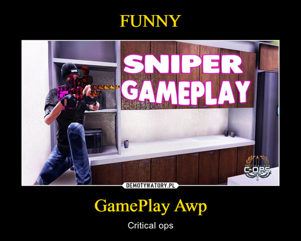 GamePlay Awp – Critical ops