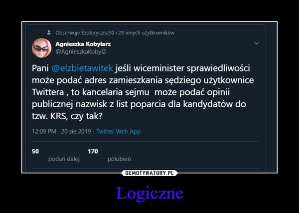 Logiczne –