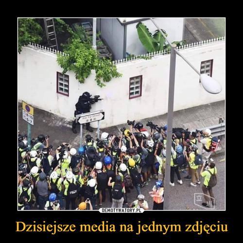 Dzisiejsze media na jednym zdjęciu