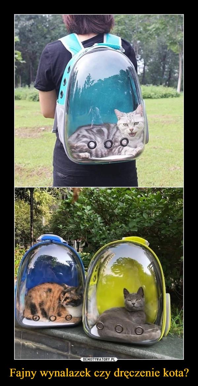 Fajny wynalazek czy dręczenie kota? –