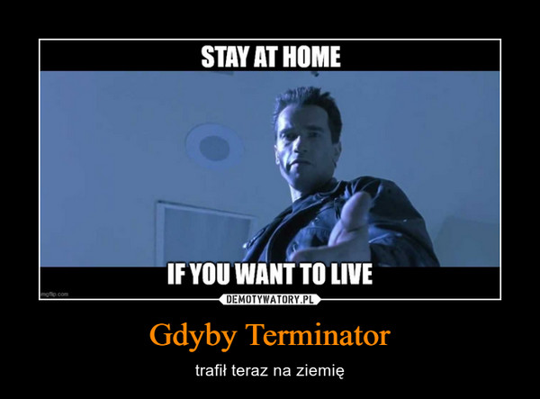 Gdyby Terminator – trafił teraz na ziemię