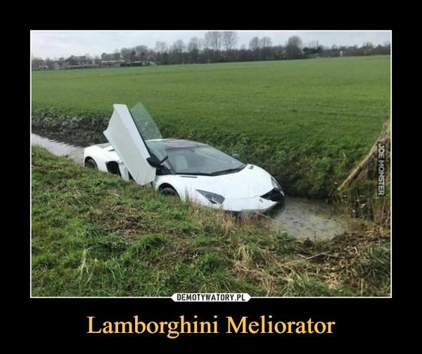 Lamborghini Meliorator –