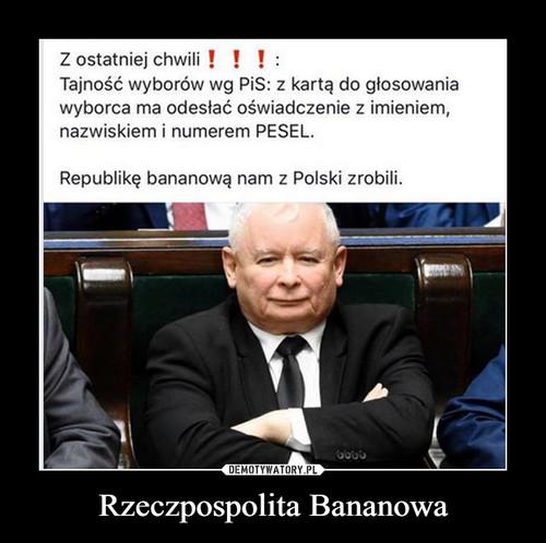 Rzeczpospolita Bananowa
