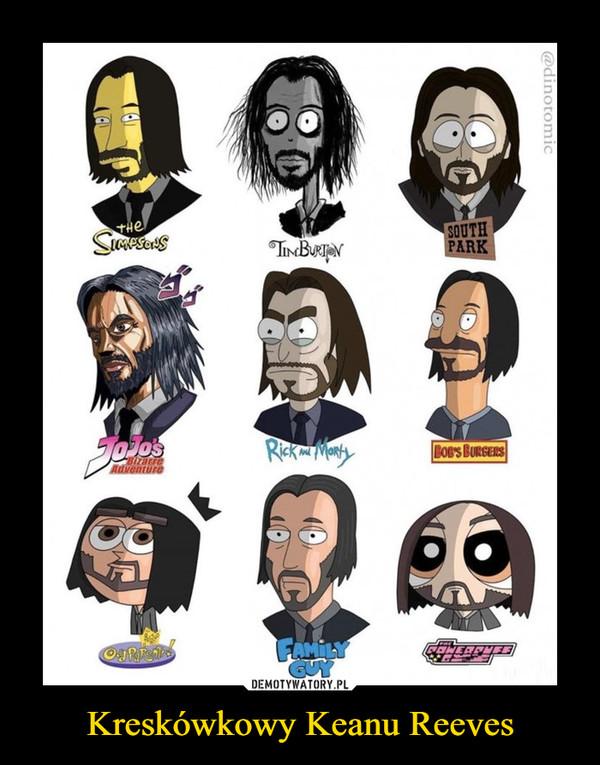 Kreskówkowy Keanu Reeves –