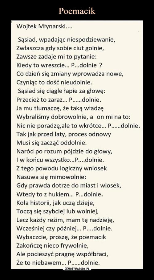 Poemacik
