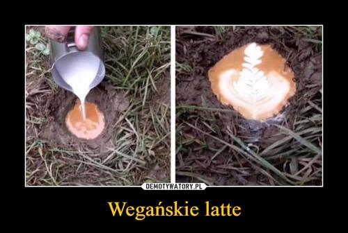 Wegańskie latte