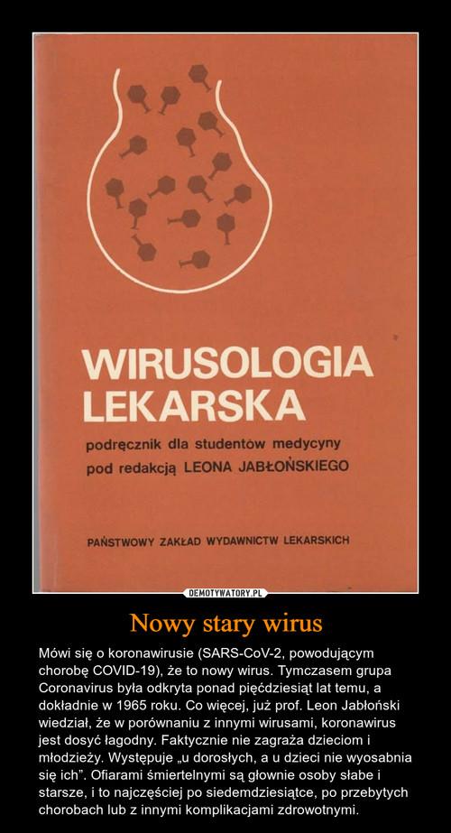 Nowy stary wirus