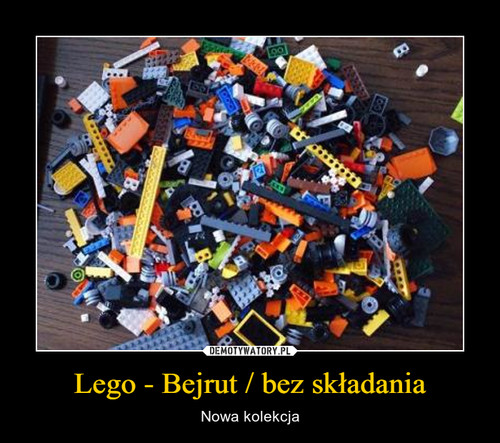 Lego - Bejrut / bez składania