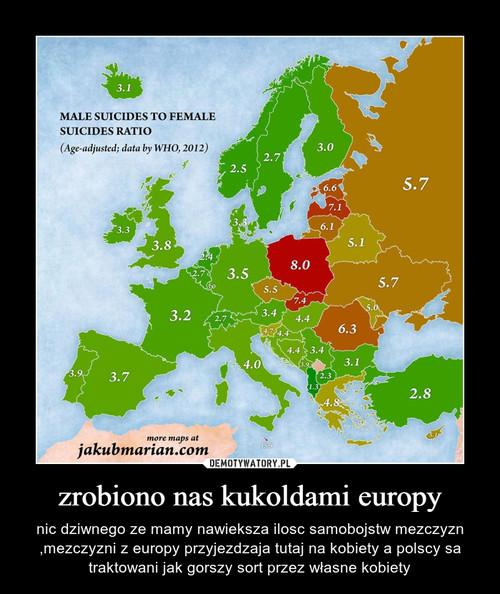 zrobiono nas kukoldami europy