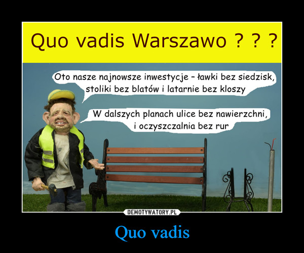 Quo vadis –