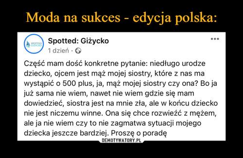 Moda na sukces - edycja polska:
