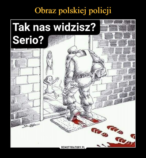 Obraz polskiej policji
