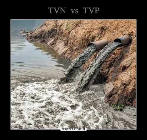 TVN  vs  TVP
