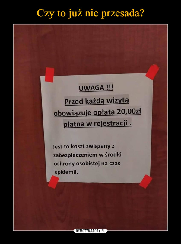 –  UWAGA !!!  Przed każdą wizytą  obowiązuje opłata 20,00zł płatna w rejestracji .  Jest to koszt związany z zabezpieczeniem w środki ochrony osobistej na czas epidemii.