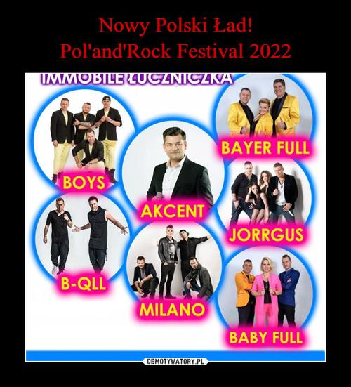 Nowy Polski Ład! Pol'and'Rock Festival 2022
