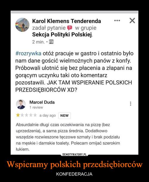 Wspieramy polskich przedsiębiorców