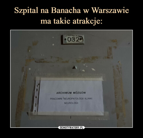 Szpital na Banacha w Warszawie ma takie atrakcje: